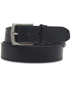 Levi's Men's Dress Belt Black Size Small S (30-32) Pleather Accessory $45 391