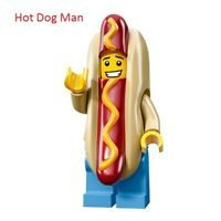New Lego Hot Dog Man Collectible Minifigure Building Blocks Toy