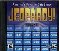 Jeopardy Deluxe, Test Your Knowledge, PC & MAC Quiz Game, New & Sealed