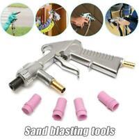 Sandblaster Kit Air Nozzles Sandblasting Feed Siphon Gun Sand Blaster Tube A2Q2
