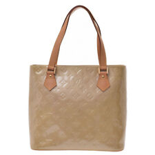 LOUIS VUITTON Vernis Houston Tote Bag beige M91004 Hand Bag 800000083195000