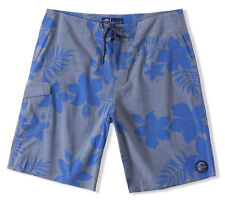 O'Neill BIMINI Mens Graphic Boardshorts 32 Grey Blue Floral NEW