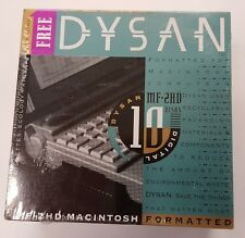 20 Genuine Dyson Brand Macintosh Formatted 1.44MB Floppy Disk 2 packs of 10 NEW