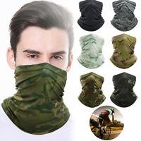 Elastic Tube Bandana Face Mask Seamless Cover MultiUse Fashion Soft Scarf Unisex