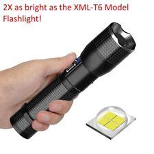 Rechargable XHP70.2 LED Flashlight & Lithium Ion Battery