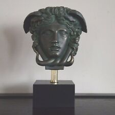 """Medusa Bust Head Greek Roman Versace Sculpture 11"""" tall Replica Reproduction"""
