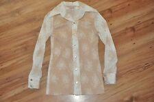 NWT 60s-70s H BAR C California Ranchwear Button down shrt SZ 30