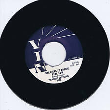 FRANKIE LEE Sims-ELLE AIME Boogie réel faible (Low Down Dirty Blues Bop) REPRO