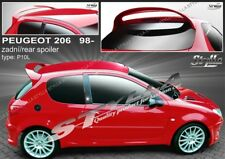 SPOILER REAR ROOF PEUGEOT 206 WING ACCESSORIES