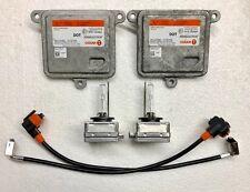 2x OEM 12-15 Tesla Model S Xenon Headlight Ballasts & D3S Bulbs Kit Control Unit