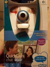 Logitech QuickCam Chat/ Headset Included for Skype, and other channels