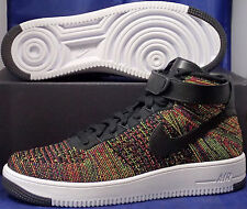 Nike Air Force 1 Ultra Flyknit Mid Multi-Color SZ 15 ( 817420-002 )