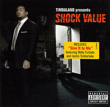 Timbaland SHOCK VALUE (Retail Promo CD, Album) Uncensored (2007)