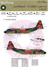 Bestfong Decals 1/144 LOCKHEED C-130H HERCULES Low Viz Markings