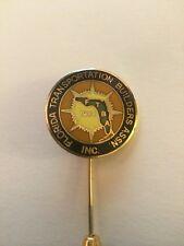 Florida Transportation Builders Assn. Inc. lapel tie tack pin back