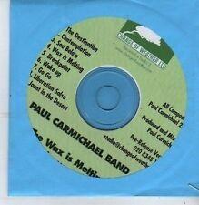 (CB236) Paul Carmichael Band, Wax Is Melting - 2011 DJ CD
