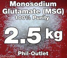 2.5kg (5.5 lb) Monosodium Glutamate - FREE SHIPPING