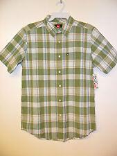 """QUIKSILVER Men's """"El Pat"""" S/S Button-Up Shirt - TID - Small - NWT"""