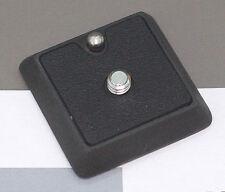 Cullmann Kamera Stativ Schnellkupplungsplatte 1/4 Zoll, klein (NEU)
