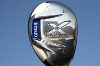 MENS BLUE X2 RH HYBRID #6 31 DEGREE CUSTOM GOLF CLUB