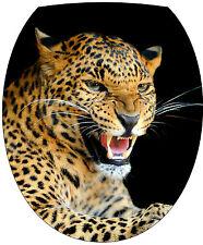 Adesivo assetta de WC decocrazione Occhio Leopardo 35x42cm Ref 2138