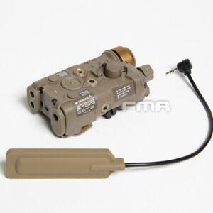 FMA LAB PEQ-NGAL Red / IR Laser & Flashlight - FDE TAN  (TB1398)