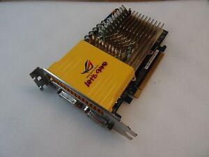 Asus EN8600GT SILENT/HTDP/512M PCI-E 512MB PC Computer Graphics Card 2x DVI
