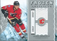 (HCW) 2012-13 Upper Deck Artifacts Frozen ALEX TANGUAY Dual Jersey 02550