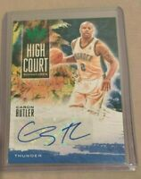 2019-20 Panini Court Kings Caron Butler Auto High Court Signatures serial# 21/25