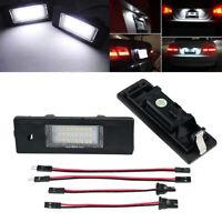 2x 24 LED Kennzeichenbeleuchtung für BMW Z4 E85 E86 03-08 Mini Clubman R55 07-14