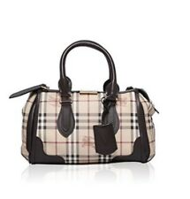 Free Shipping NWT $1395 🆕 Authentic Burberry Sm Haymarket check Gladstone