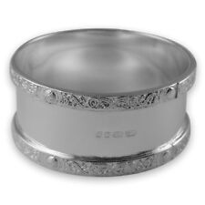 NEW - Sterling Silver - NAPKIN or Serviette RING - Boxed - Celtic Design