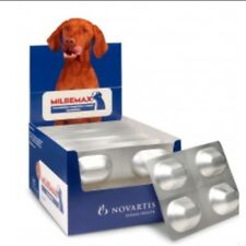 4 Comprimidos masticables Milbemax para perros de 5 a 25kg CADUCIDAD Mín 05/2020