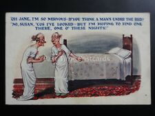 Bedroom Theme: OH, JANE IM SO NERVOUS D'YOU THINK A MAN'S UNDER THE BED? c1925