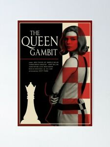 Queen's Gambit Vintage Chess Lover Gift Posters | Unframed Paper Posters