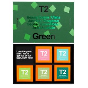 T2 Green 5 Pack Loose Leaf Set by T2 Tea