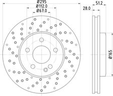 NEW MINTEX - FRONT - BRAKE DISCS (2X DISCS) - MDC2539 - FREE NEXT DAY DELIVERY