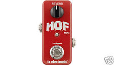 T.C. Electronic- H.O.F. Mini Reverb Pedal - Hall of Fame
