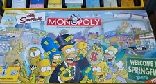 MONOPOLY The SIMPSONS BOARD GAME 2001 PARKER BROTHERS COMPLETE GAME