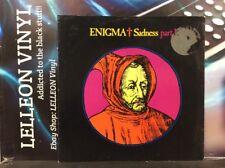 "Enigma Sadness Part 1 12"" Single Vinyl DINST101 A1U/B1U Pop 90's"