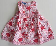 Kleid ärmellos Sommer 100% Baumwolle Gr. 68 Mädchen MARKE *492