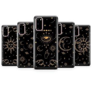 Sun and Moon Phone cases Zodiac Tarot covers Astrology Evil Samsung S20 Fe, S21