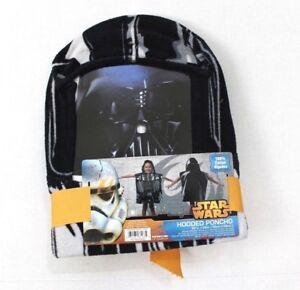 Star Wars Kids Cotton Hooded Poncho Darth Vader Towel