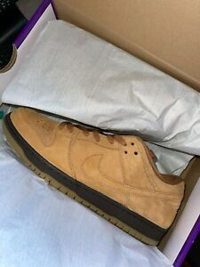 """Nike Sb Dunk Low Wheat """"Flax"""" Size 11 BQ6817-204 *IN HAND READY TO SHIP*"""