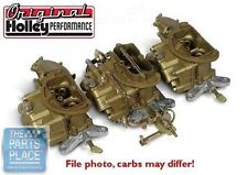 1969-70 Chrysler Six Pack Holley Carburetors - 4144-1 & 4365-1
