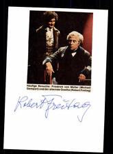 Robert Freitag Original Signiert # BC 114689