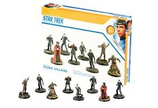 Star Trek Adventures Miniatures: Iconic Villains New and Sealed