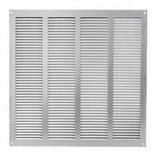 400x400mm Ventilation Grill 15x15 inch , Air Vent Grille Cover Metal, with Mesh