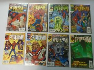 Peter Parker Spider-Man Comic Lot From: #1-47 42 Diff Avg 8.5 VF+ (1999-2002)
