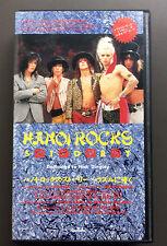 HANOI ROCKS - Hanoi Rocks Story VHS Japanese Video VG Glam Rock Mike Monroe